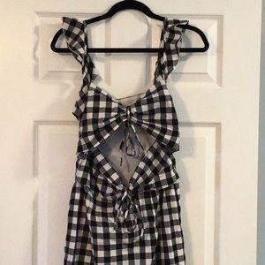 Cutout Midi Dress